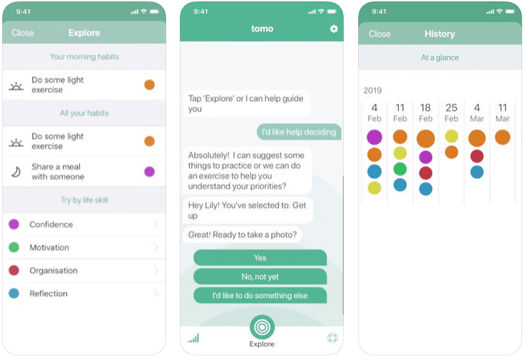 Tomo - mental health apps