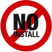 no install - cloud mobile apps