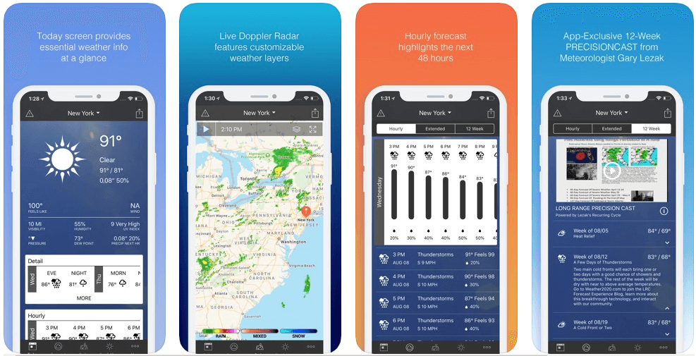 1Weather - weather forecast apps