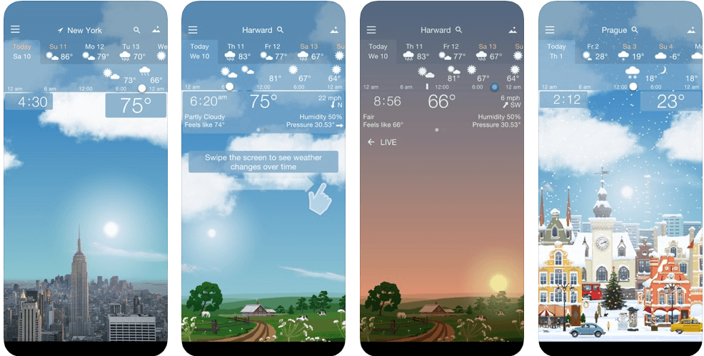 Awesome Weather - weather forecast apps