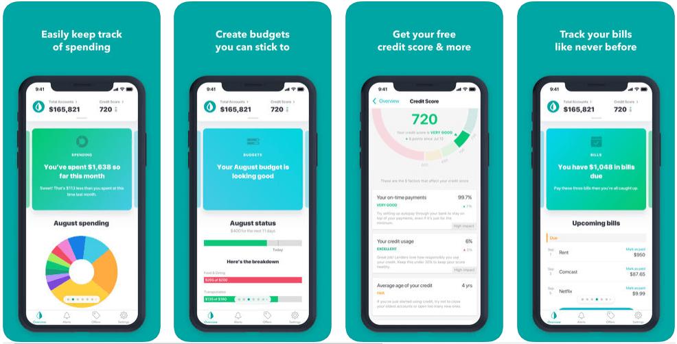 Mint - personal finance apps