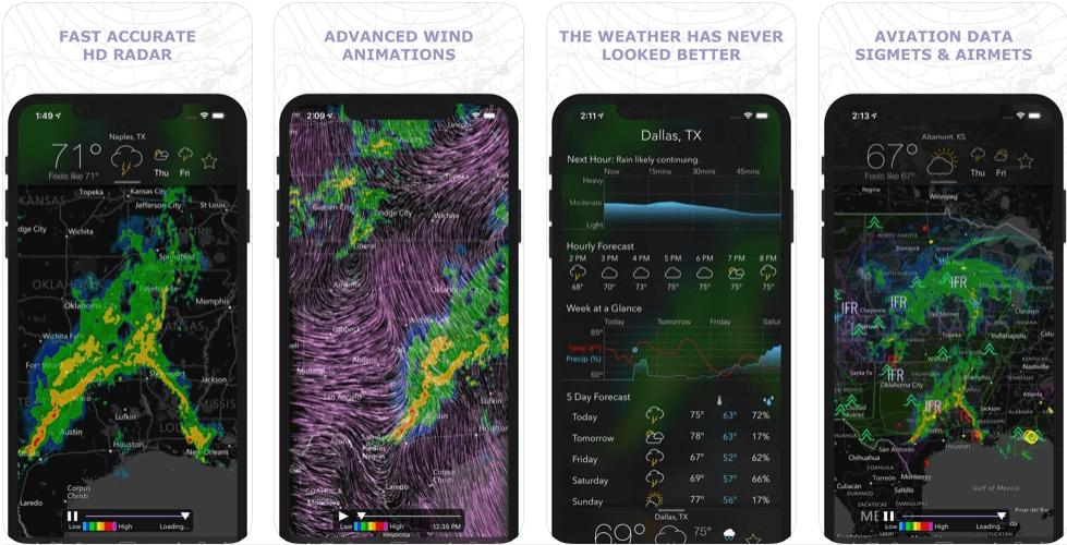 MyRadar - weather forecast apps
