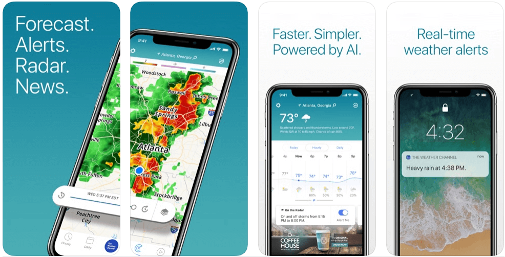 Weather Channel - weather forecast apps