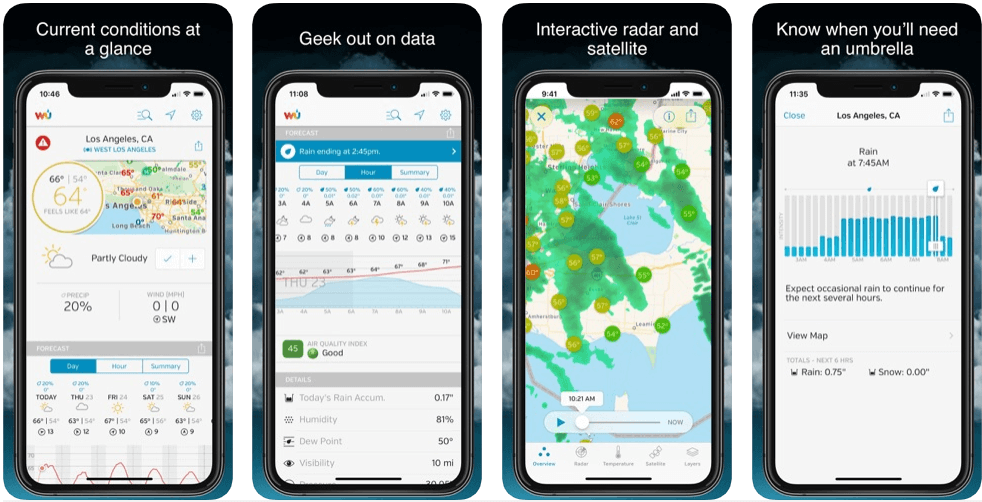 Weather Underground - weather forecast apps