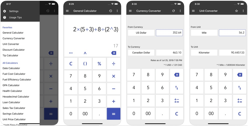 ClevCalc - calculator apps