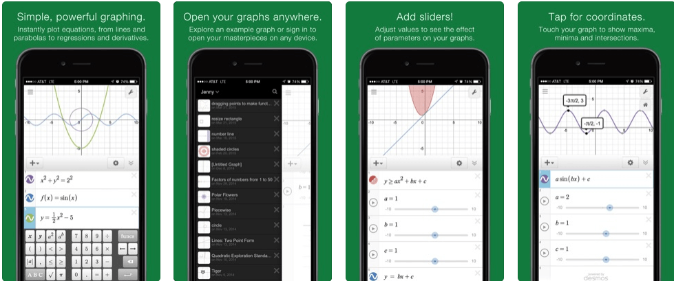 Desmos Graphing Calculator - calculator apps