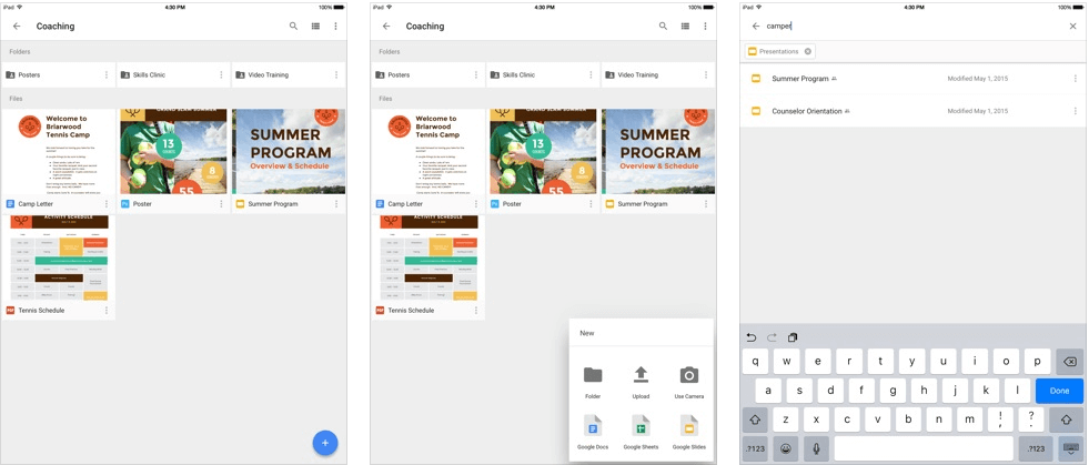 Google Drive - productivity apps