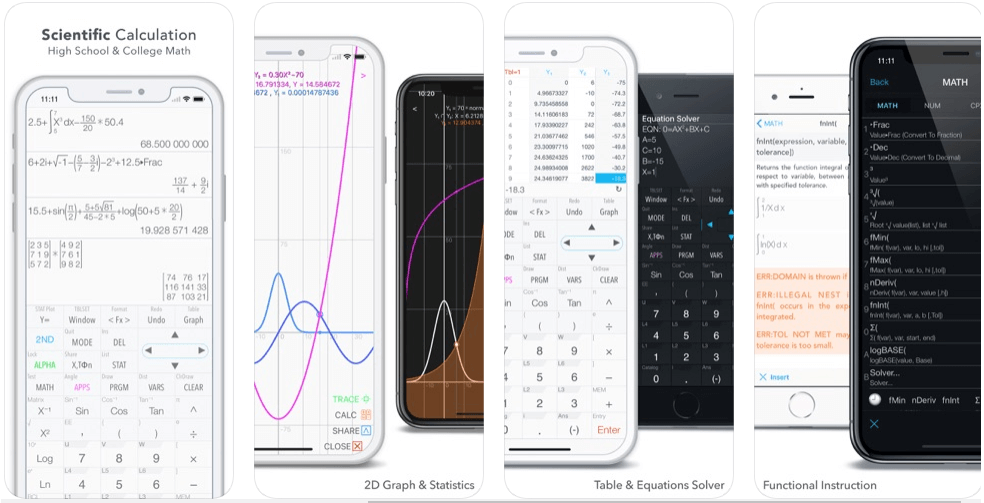 Graphing calculator - calculator apps
