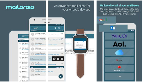 Maildroid - email apps for android