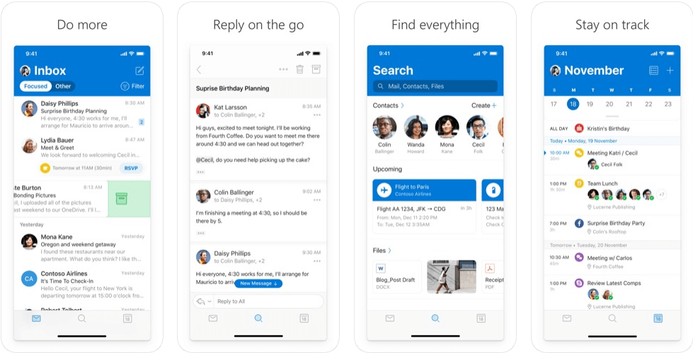 Outlook - email apps for android