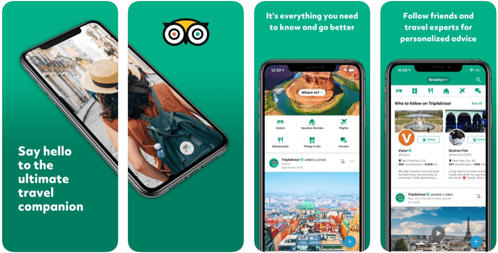 tripadvisor - best travel apps