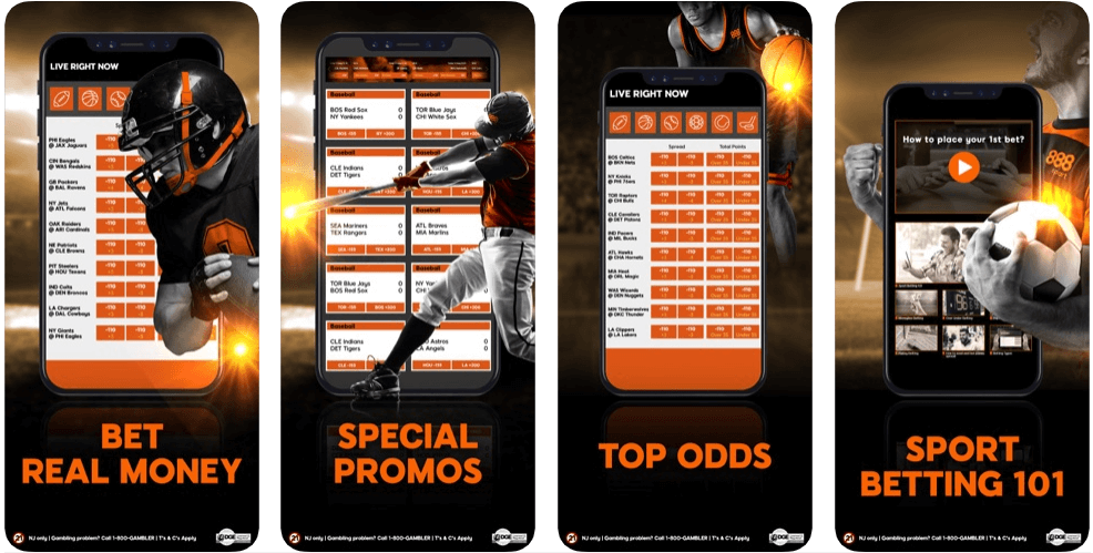 888 sport - betting apps