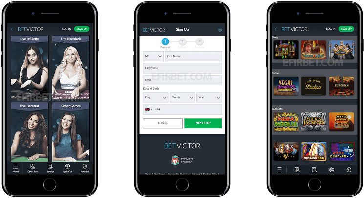 Betvictor - betting apps