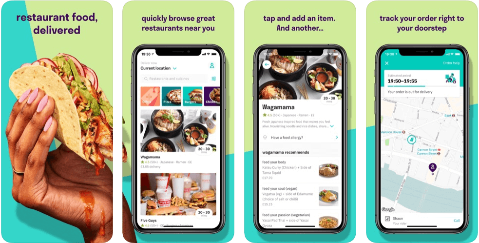 Delivero - restaurant apps