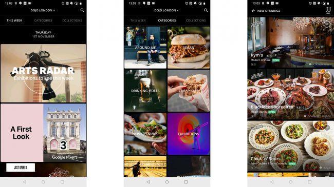 Dojo - restaurant apps