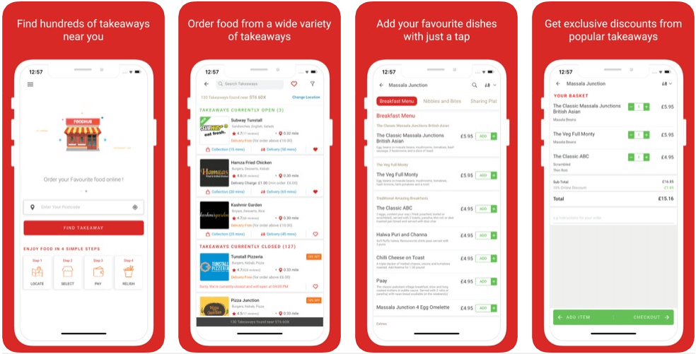 Foodhub - restaurant apps