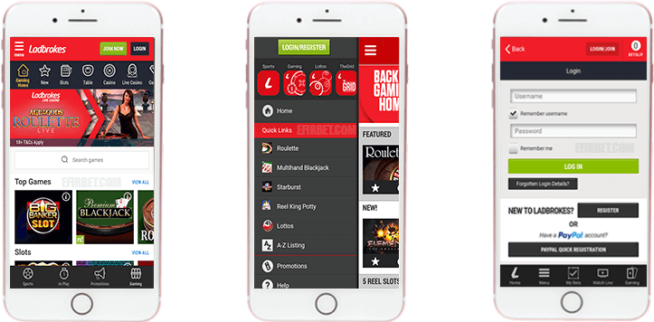 Ladbrokes - betting apps