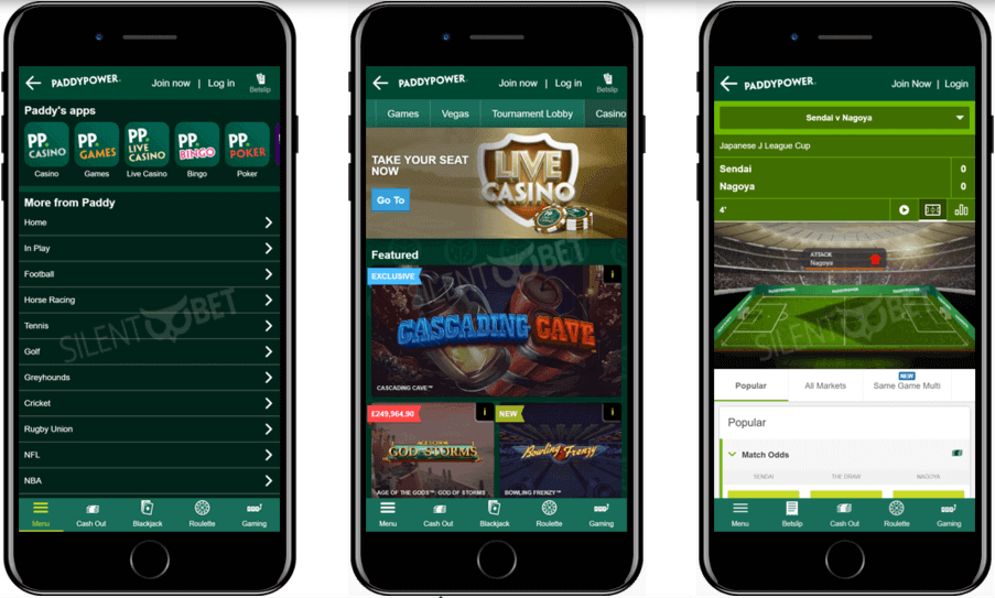 Paddy power - betting apps