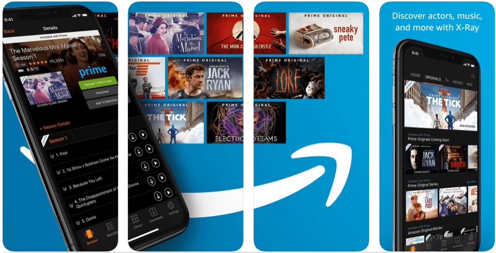 Amazon Prime - tv apps