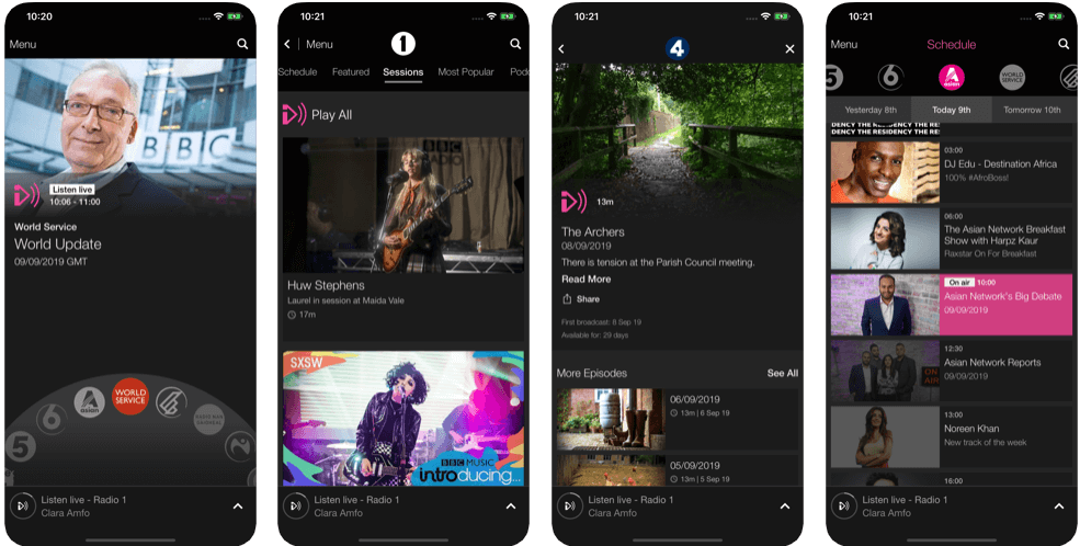 BBC iplayer - tv apps