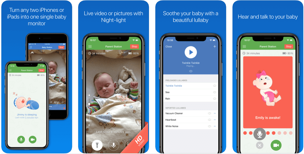 Baby Monitor - best free pregnancy apps