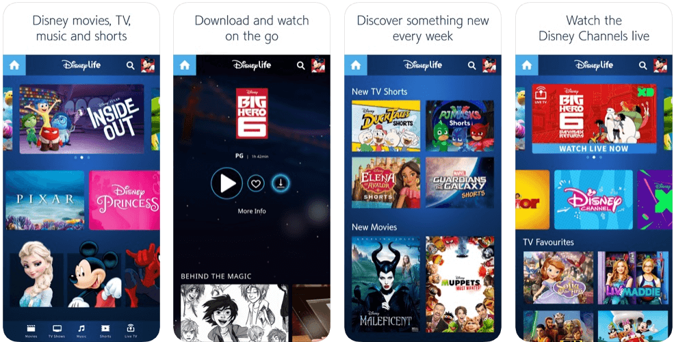 Disney life - tv apps