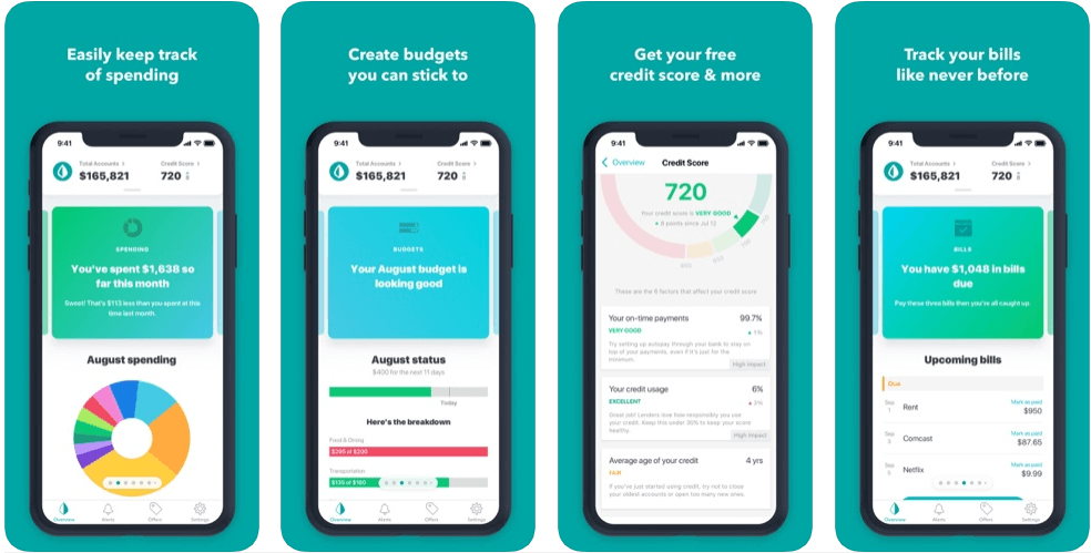 Mint - best free budgeting apps uk