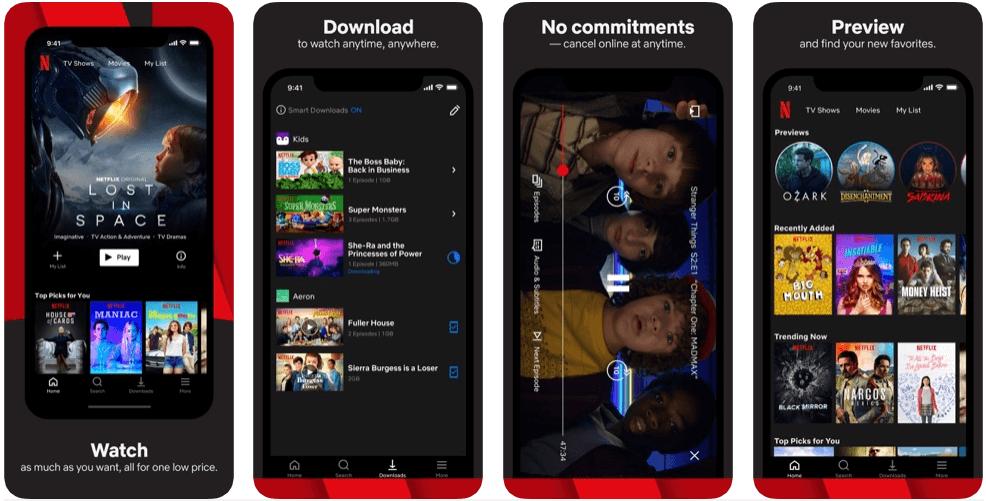 Netflix - tv apps