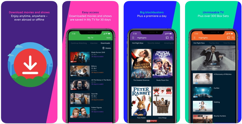 Now TV - tv apps