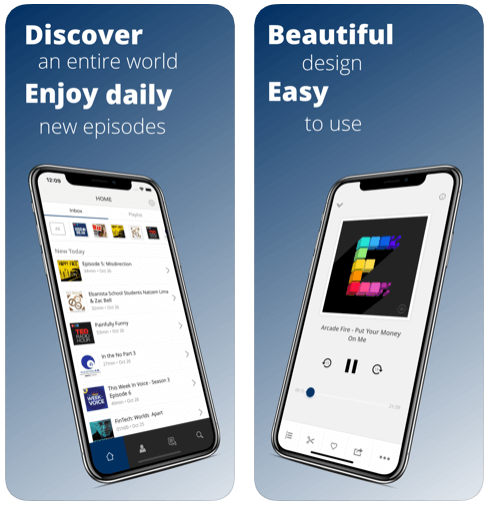 Procast- best free podcast apps