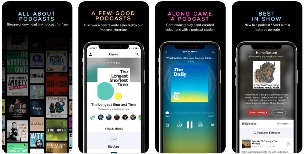 RadioPublic- best free podcast apps