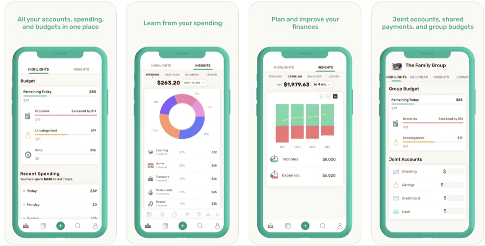 Wally - best free budgeting apps uk