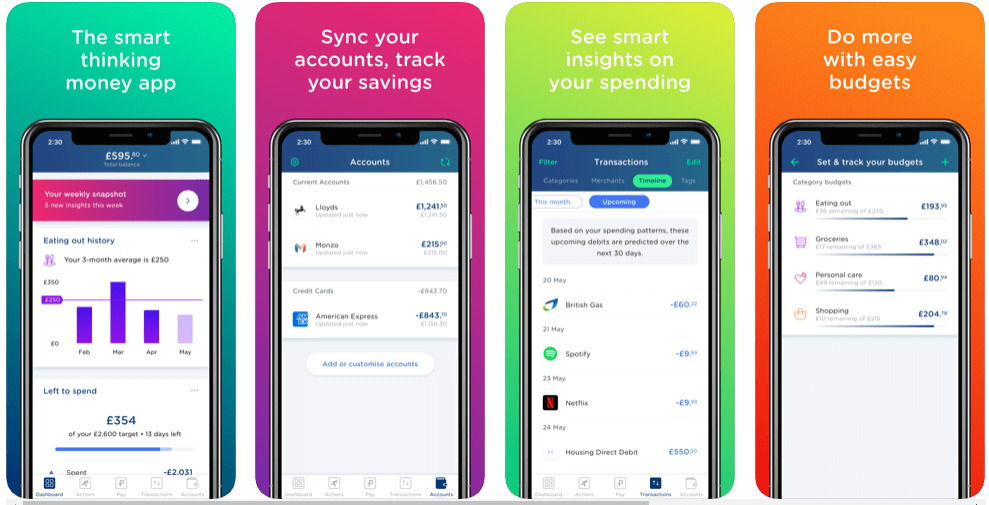 Yolt - best free budgeting apps uk