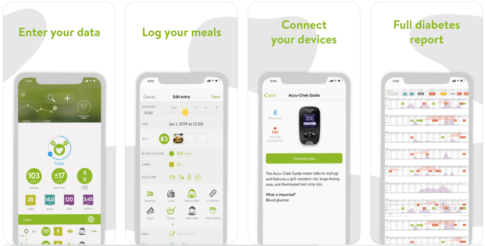 mySugar - free diabetes apps