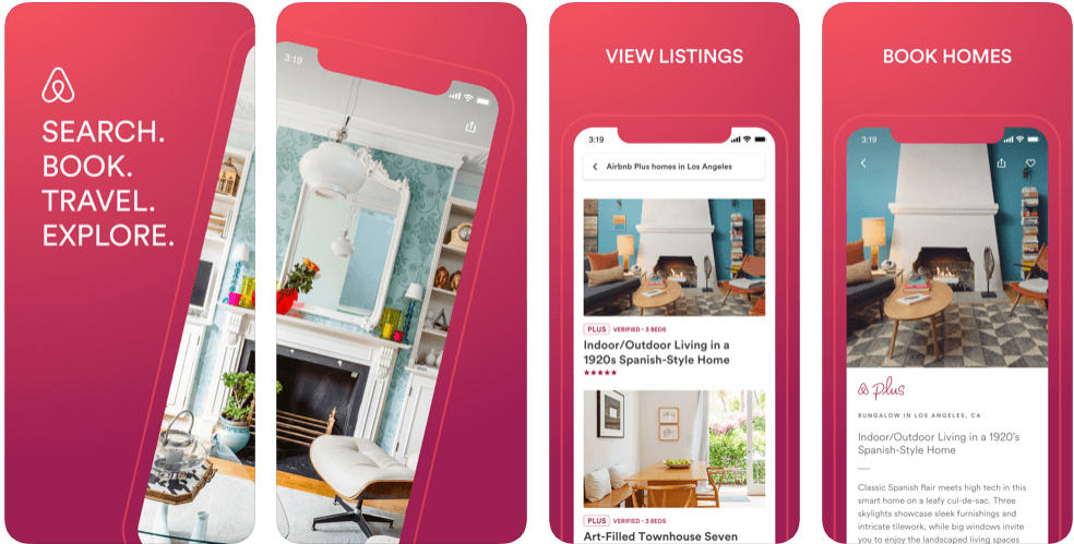 Airbnb features - create an app like Airbnb