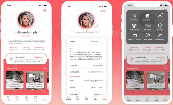 Airbnb host features - create an app like Airbnb