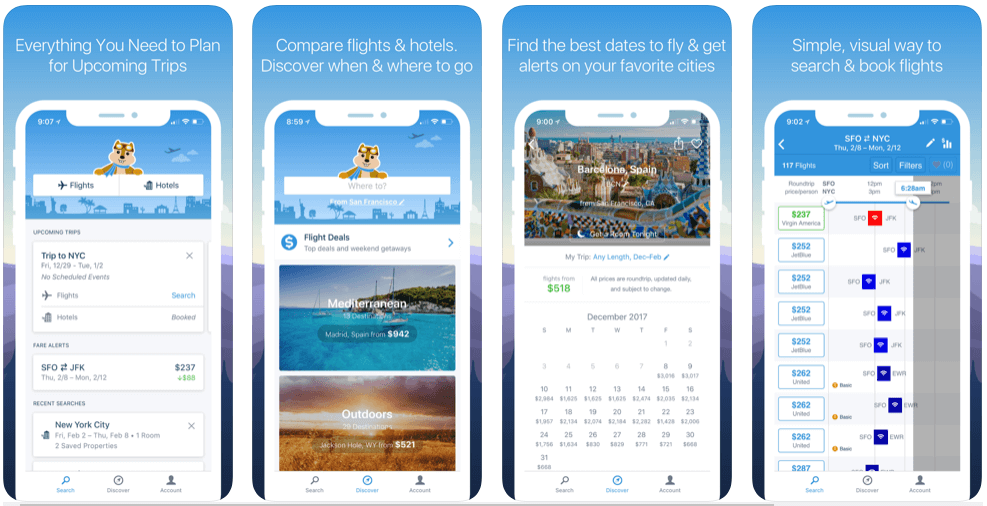 Hipmunk - flight booking apps