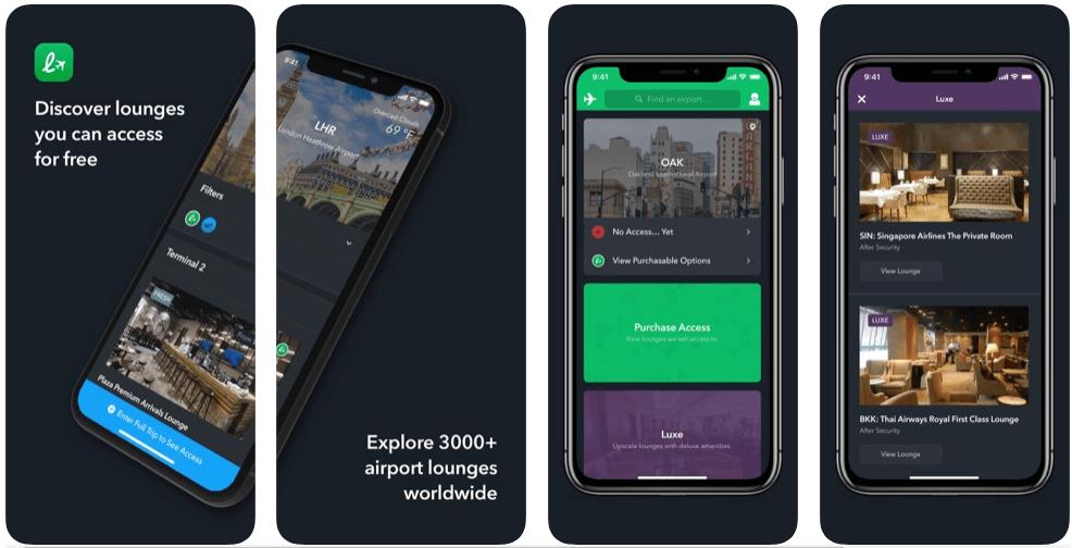 LoungeBuddy - flight booking apps