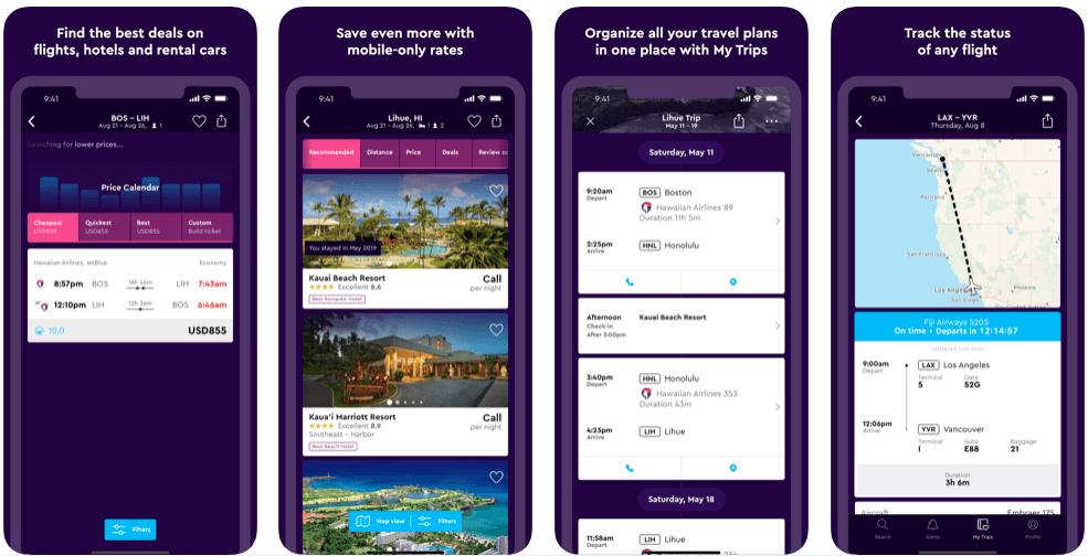 Momondo - flight booking apps