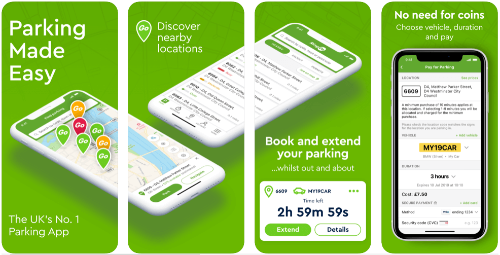 RingGO - parking apps uk