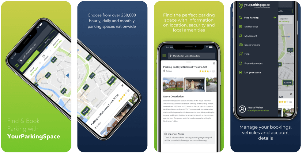 Your Parking Space - parking apps uk